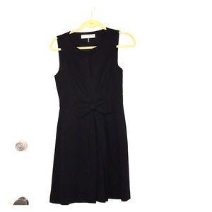 NWOT Trina Turk black dress with bow